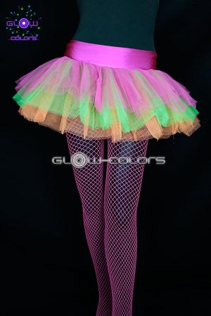 Tutu fluo multicolore UV