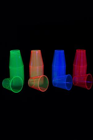 Lot de 50 shooters 4 couleurs