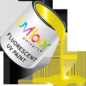 Peinture fluorescente jaune 100ml for Peinture jaune fluo