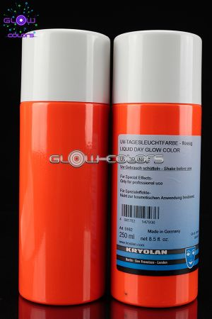 Fard liquide fluorescent 250ml ORANGE