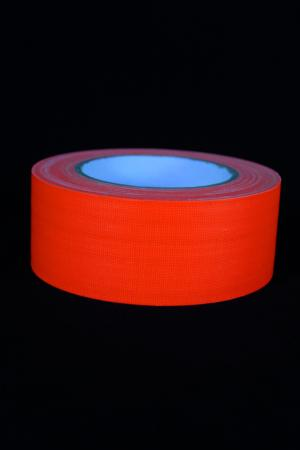 Adhesif Orange fluo 50mm x 25m plastifié