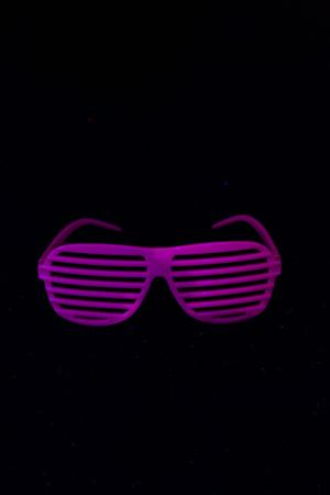 Lunette fluo fun rose