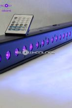 LED BAR-27 UV 27x1W 25° RC DMX512