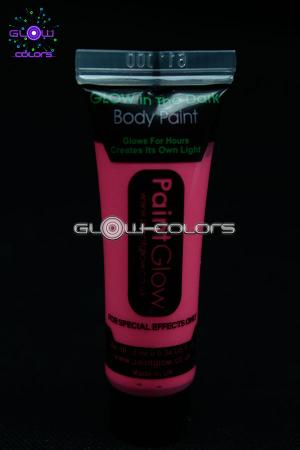 Maquillage phosphorescent rose