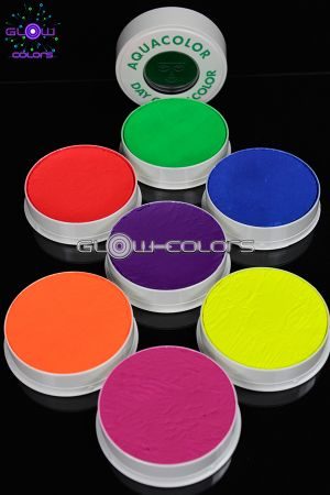 Maquillage fluo aquacolor