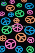Stickers Peace And Love UV