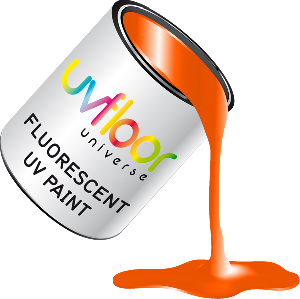 Peinture fluorescente orange 250ml