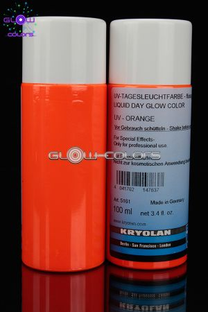 Fard liquide fluorescent 100ml ORANGE