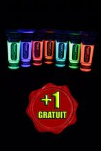 Pack maquillage phospho 6 couleurs 10 ml + 1 GRATUIT