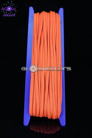 Corde orange fluo 6 mm x 20 m