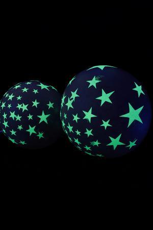 2 ballons gants phosphorescents 863 cm - Ballon Phosphorescent Mariage