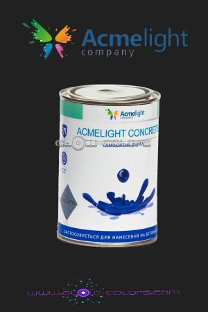 FluorLight Concrete blue 0,5l