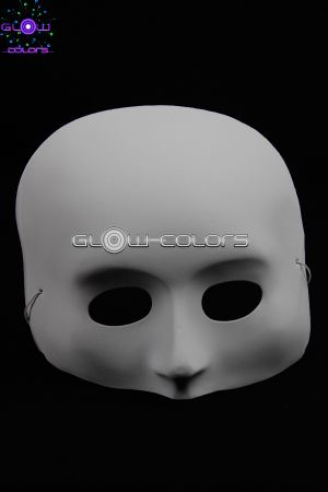 masque fluo loups v nitien demi visage int grale. Black Bedroom Furniture Sets. Home Design Ideas